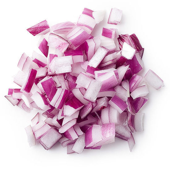 Onions - Red Diced - 2kg