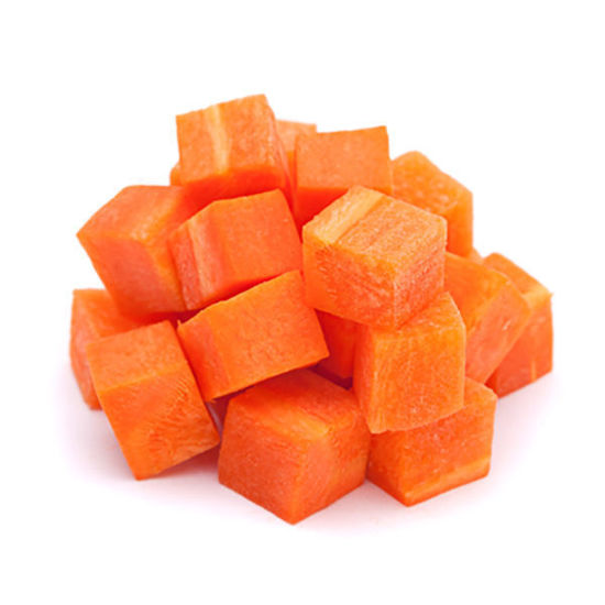 Carrots - Diced - 2kg