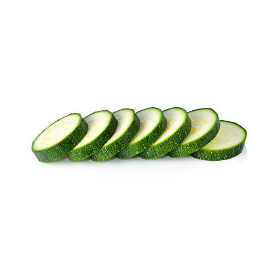 Courgette - Green - Sliced - 2kg