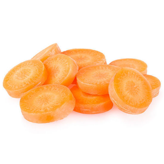 Carrots - Sliced - 5kg