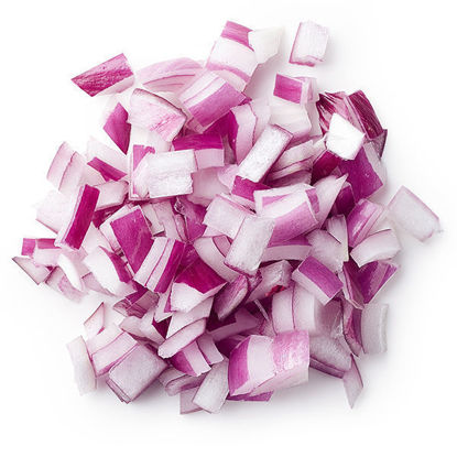 Onions - Red Diced - 5kg