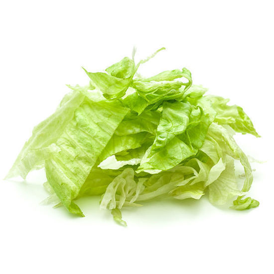 Lettuce - Iceberg Shredded - 500g Bag