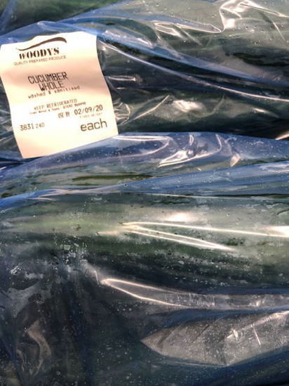 Picture of Cucumbers - Washed