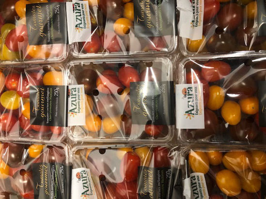 Picture of Tomatoes - Cherry Mixed/Yellow - Punnet